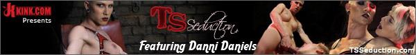 Danni Daniels gets kinky at tsseduction.com